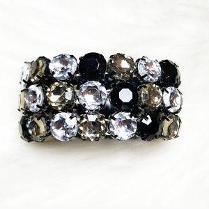 Jewelry - Jeweled Multi Colored Strech Bracelet